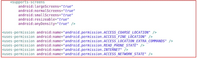 Android Malware Code