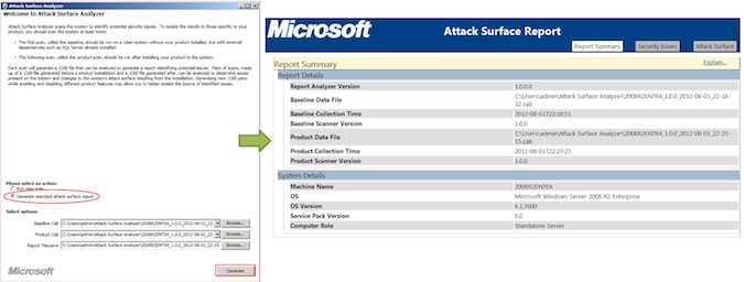 Microsoft Attack Surface Analyzer