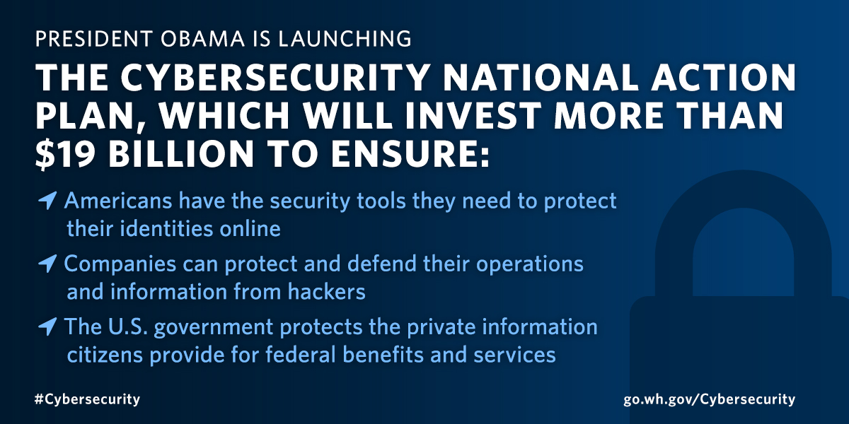 Cybersecurity National Action Plan