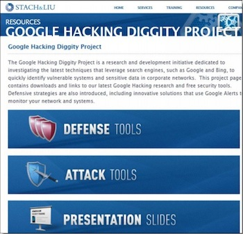 Google Hacking Project