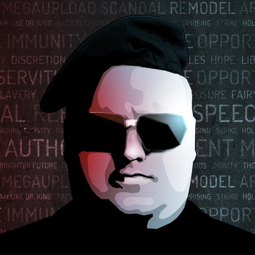 Kim Dotcom Beaten by Police