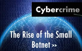 Cybercriminals Increasingly using Smaller Botnets