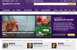 Yahoo Voices Hacked by D33ds Company