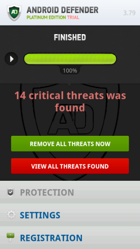 Android Defender Screenshot