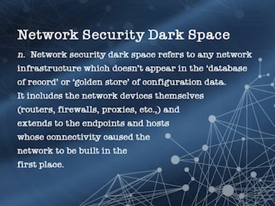Network Security Dark Space Definition
