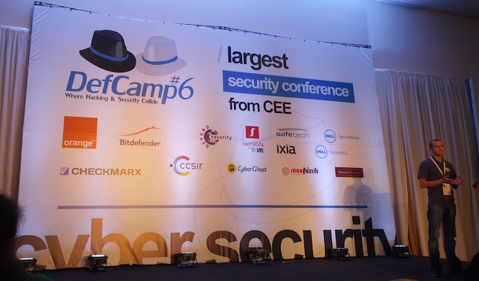 Andrei Costin Presents at Defcamp