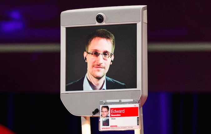 Edward Snowden Interviewed at TED