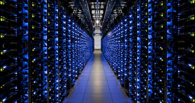 Google Data Center (Image Credit: Google)