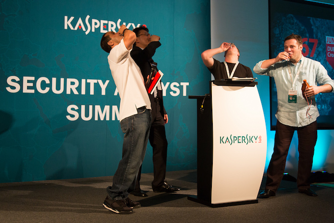 Shots at Kaspersky Security Analyst Summit 2013