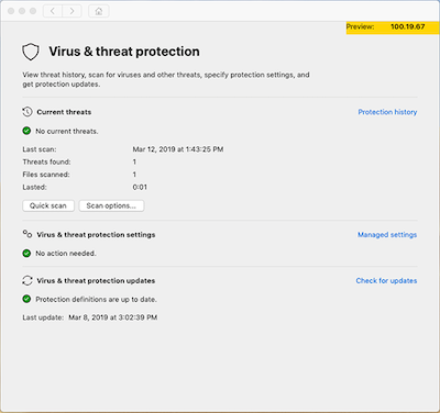 Microsoft Defender ATP Preview