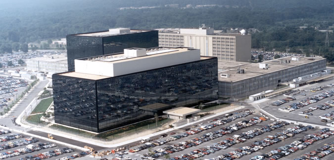 Arial View of NSA Building