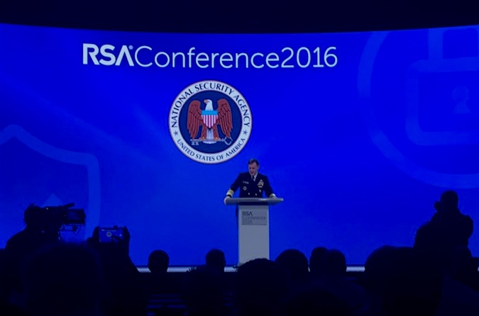 Mike Rogers, NSA Talks at RSA Conference