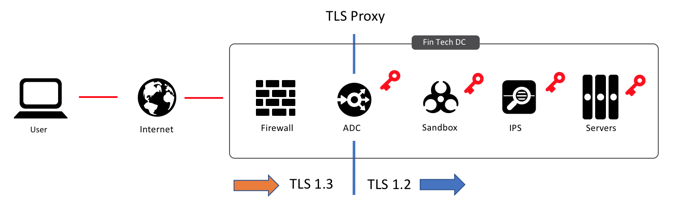 TLS Proxy Diagram