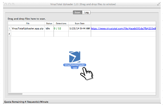 VirusTotal for Mac OS X