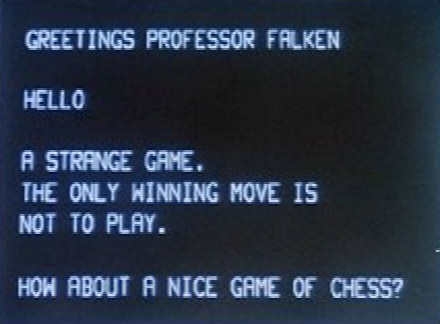 Wargames: Shall We Play a Game?