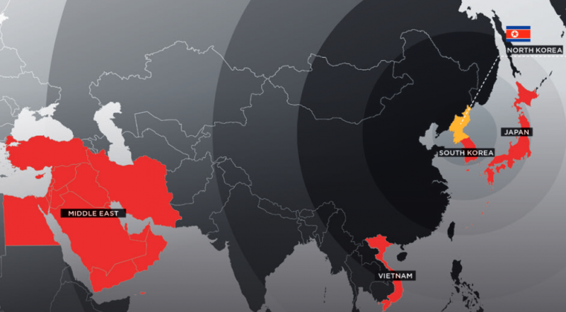 North Korean hacker group APT37 expands targets
