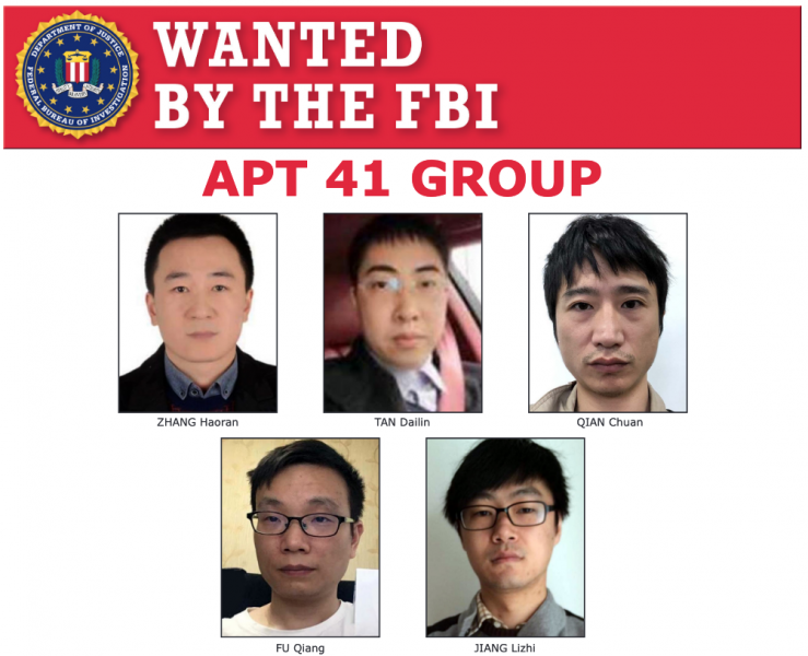Hackers of China's APT41 group charged