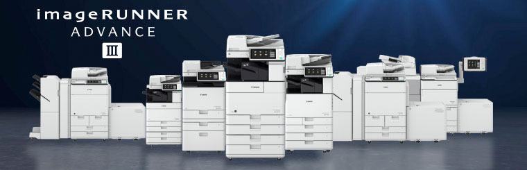 New Canon imageRUNNER ADVANCE printers with enhanced security