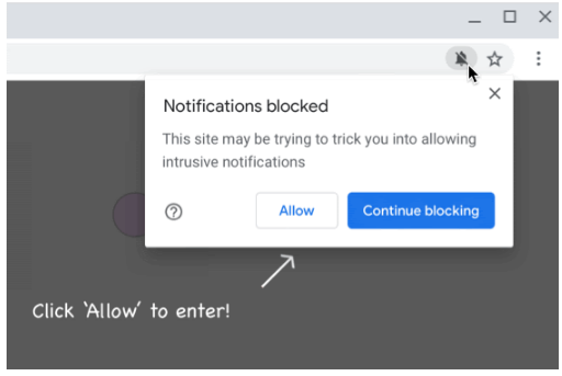 Chrome to block misleading and malicious notifications
