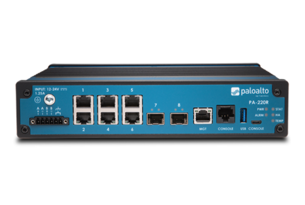 Palo Alto Networks PA-220R rugged firewall