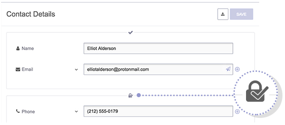ProtonMail Contacts