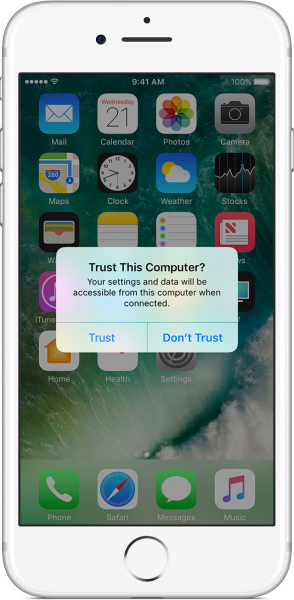 Trustjacking only requires a user to trust a malicious or compromised device