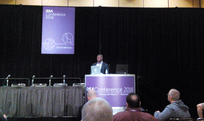 Andre McGregor at RSA Conference