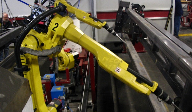 Industrial robots vulnerable to hacker attacks
