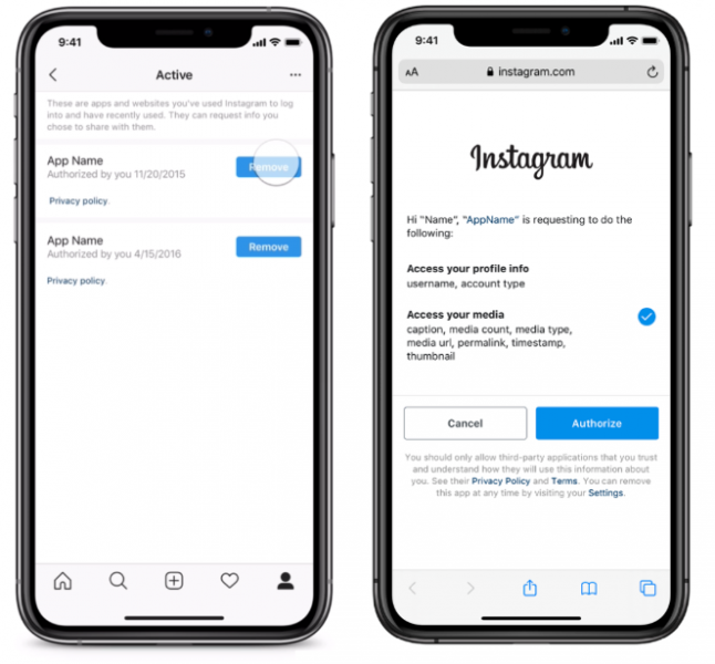 New data security controls added to Instagram