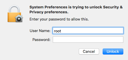 Root access on macOS High Sierra with no password