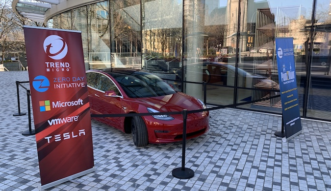 Researchers win Tesla Model 3 at Pwn2Own
