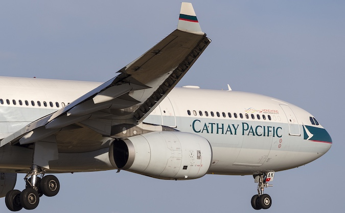 Airline Cathay Pacific fined over data breach