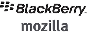 BlackBerry and Mozilla Logos