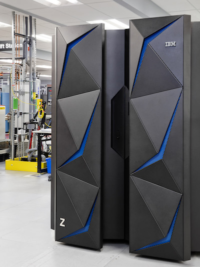 Photo of IBM Z14 Mainframe