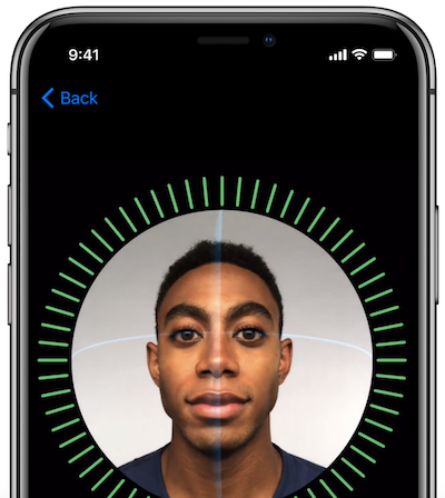 FaceID from Apple - Facial Recognition
